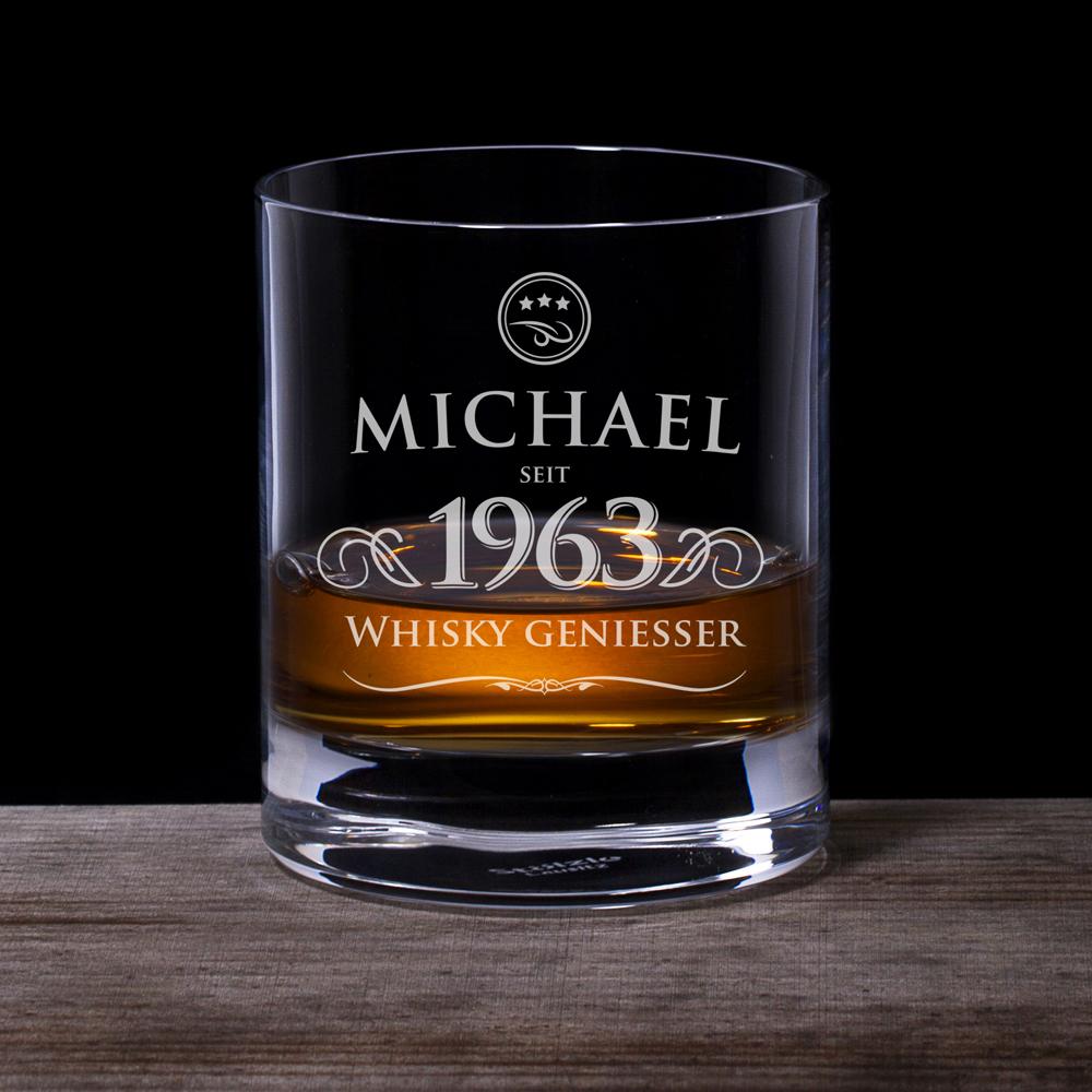 Whiskyglas Elegant - Whiskygenießer