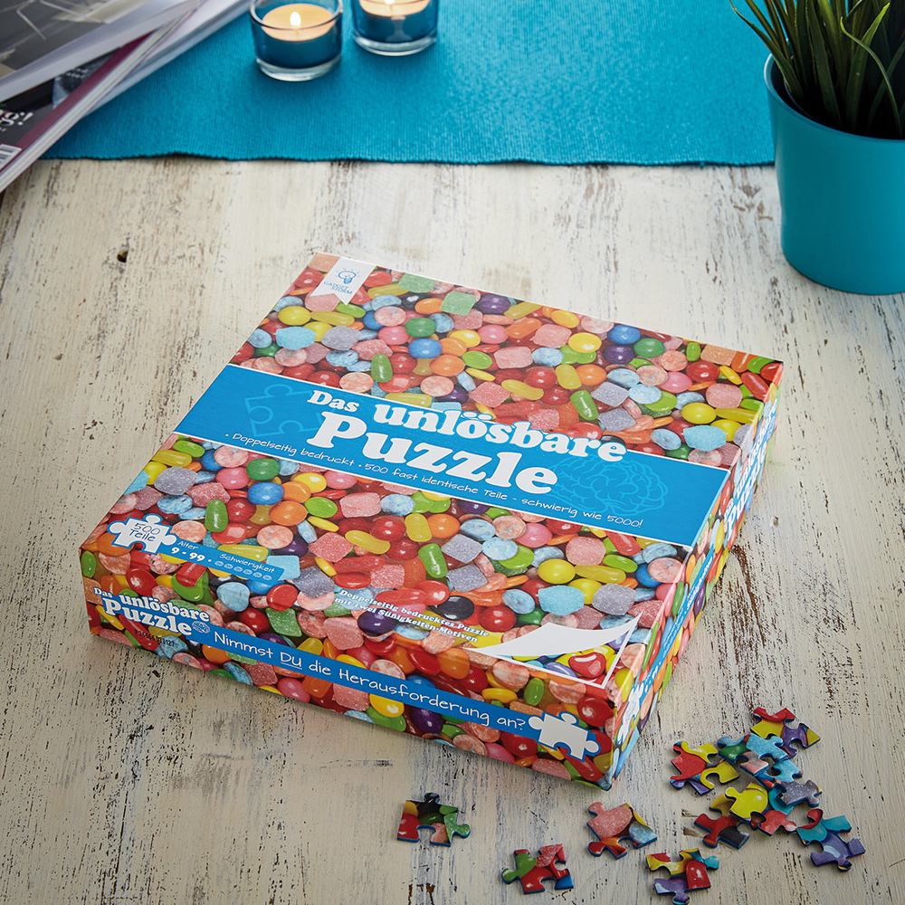 Das unmögliche Puzzle - Unlösbares Puzzle - Bonbons